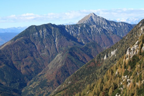 Mountain Storžič, 2132m, Slovenia; Habitat of the two species of birds mentioned above
