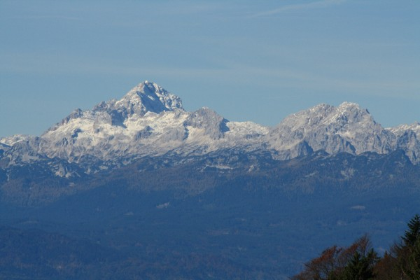 His Majesty Triglav 2864 m - The highest mountain in Slovenia (Julian Alps)