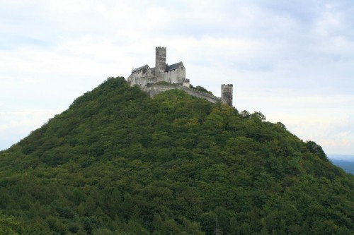 Bezdez - a Landmark of the Wolf Mountains in the Macha County, Czech Republic