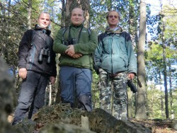 Foundation members of the FOREST NGO in field