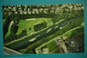 Visualization of the revitalized river bed after the project implementation